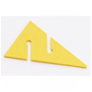 Markeris DIR ZONE Cave Arrow yellow 90 mm