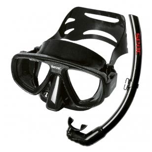 Kaukė + vamzdelis Set Extreme Seac Sub