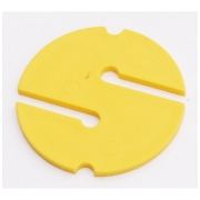 Markeris DIR ZONE Cave Non-Directional Marker yellow 55 mm
