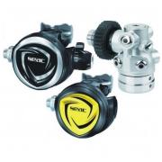 Reguliatorius DX 200 ICE 300BAR DIN + Octo  komplektas Seac Sub