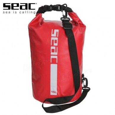 Sausas krepšys Tašė Dry Bag Seac 15l raudona
